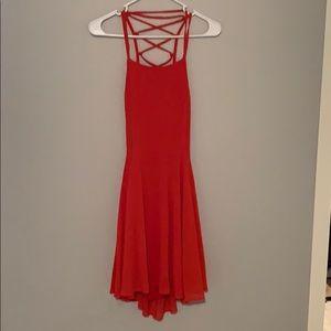 Lulus back lace up dress